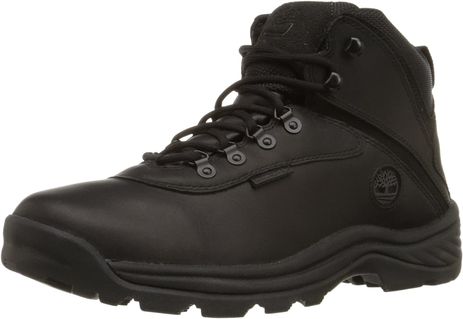 Timberland Men s White Ledge Mid Waterproof Ankle Boot,Black,8.5 W US