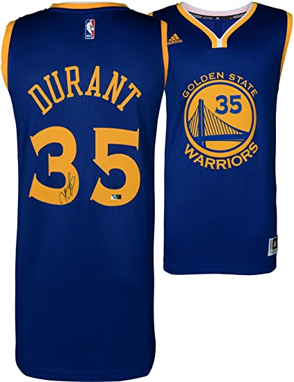 0e5216df3d8 Kevin Durant Golden State Warriors Autographed Blue Adidas Swingman Jersey  - Panini Authentic - Fanatics Authentic Certified at Amazon's Sports  Collectibles ...
