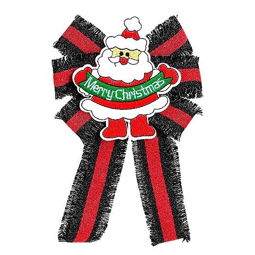 Broche Lindo de la Mujer de Papá Noel Bowknot Corbata Broche para ...