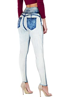 22924c73dcec HyBrid   Company Women Butt Lift 3 Button High Waist Stretch Denim Skinny  Jeans