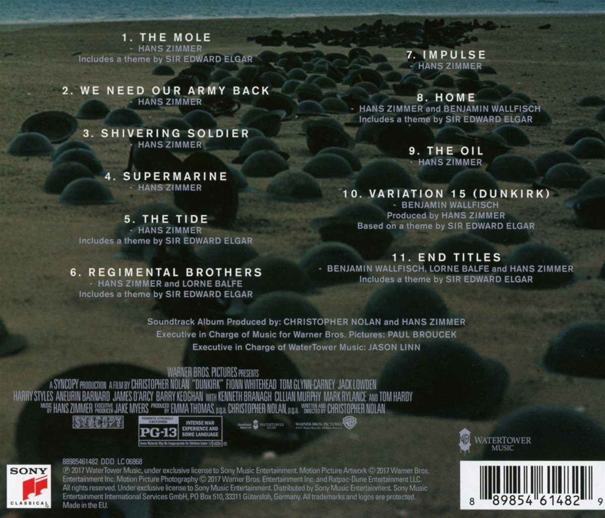 Dunkirk - Hans Zimmer, various: Amazon.de: Musik