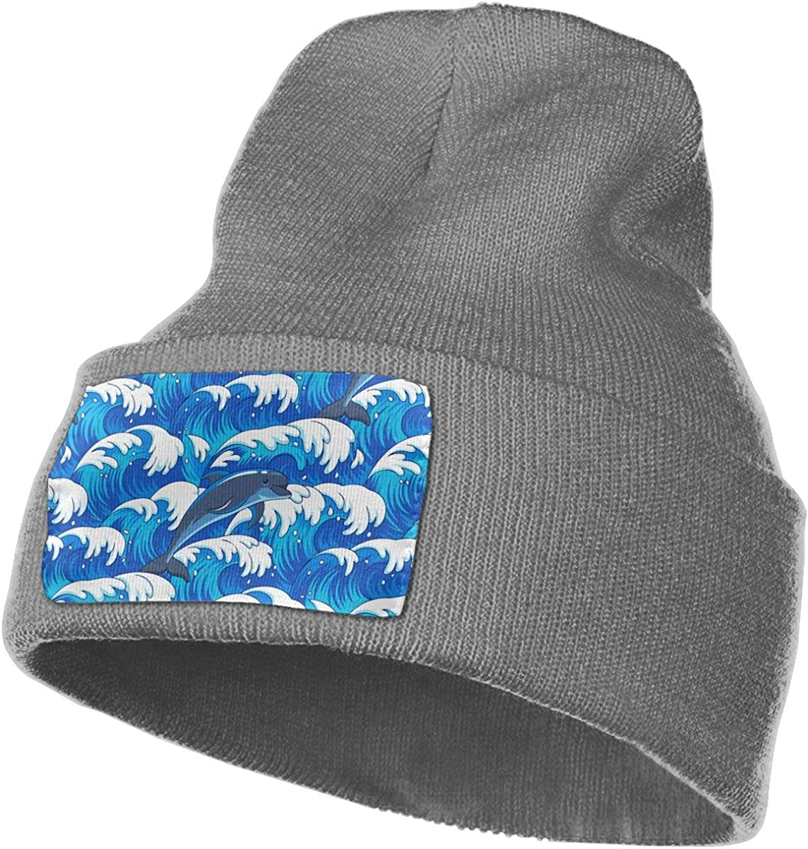 Love Sea Dolphin Unisex Winter Knitting Woolen Hat Warm Cap