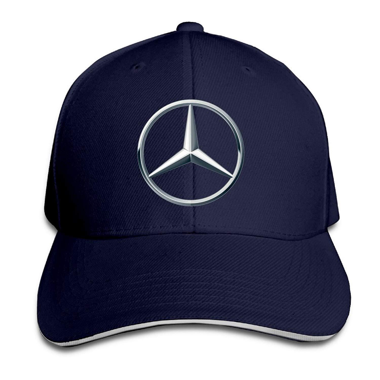 Youaini Mercedes Benz Logo Snapback Hats Winter