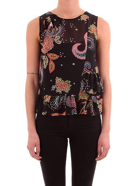 09bffa99b40d Liu Jo F19208 T0110 Camicia Donna  Amazon.it  Abbigliamento
