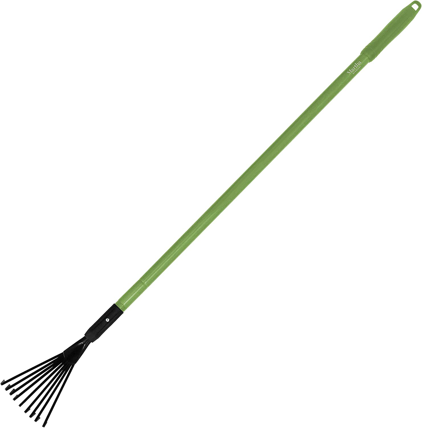 Martha Stewart MTS-TELR Shrub Rake with Comfort Grip Handle