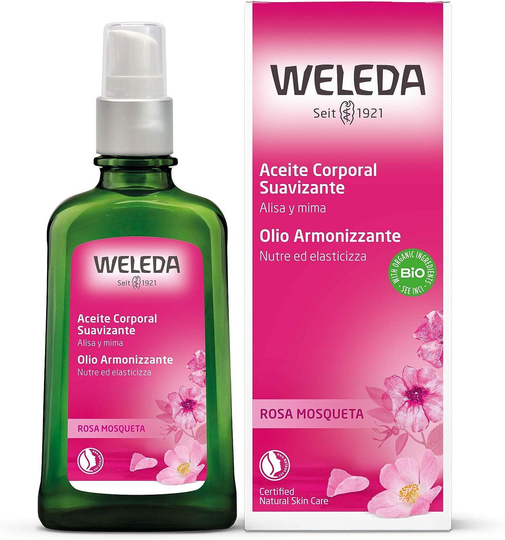 Weleda - Aceite Corporal De Rosa De Mosqueta 100 ml ud.: Amazon.es: Belleza