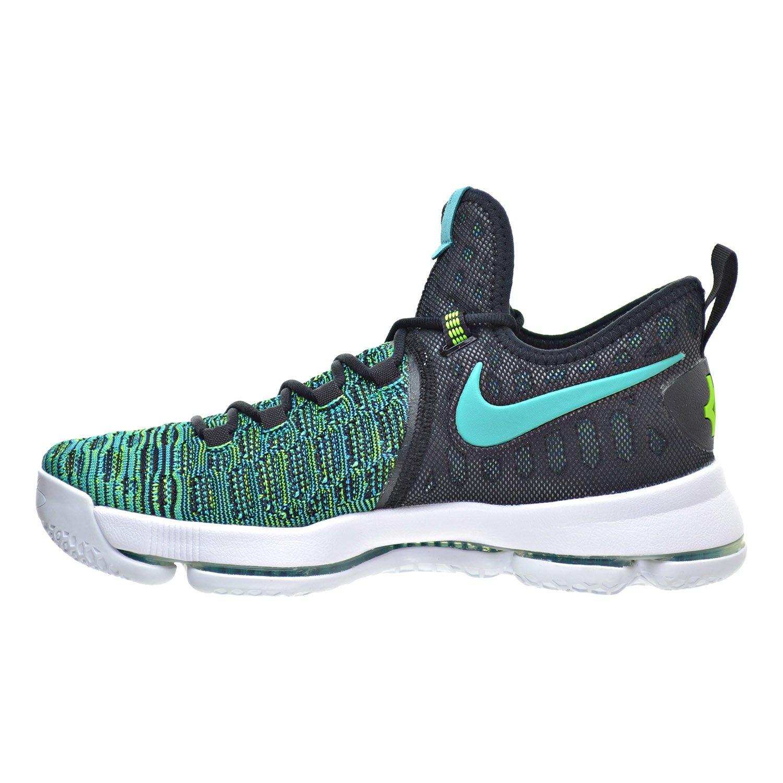 Nike Zoom KD 9 Mens Basketball Shoes Clear Jade/Black 843392-300