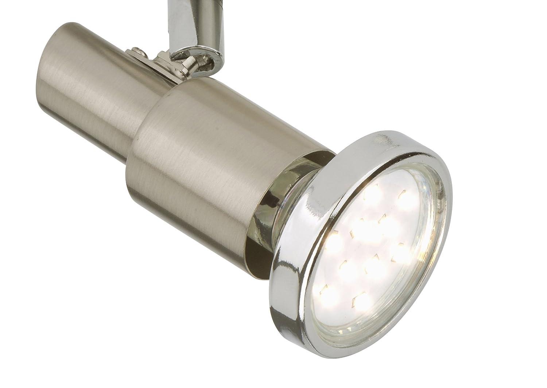 Briloner Leuchten LED Deckenstrahler Deckenleuchte Deckenlampe Spots Wohnzimmerlampe Deckenspot Strahler Deckenbeleuchtung