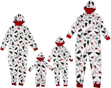 Landove Pijama Familiar de Navidad Invierno Conjunto 2 Piezas ...