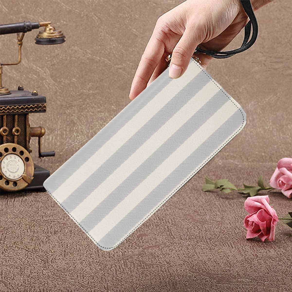 InterestPrint Womens Seamless Pattern of Words Love Clutch Purse Card Holder Organizer Ladies Purse