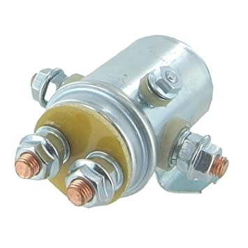 amazon com solenoid relay switch for prestolite ramsey solenoid relay switch for prestolite ramsey applications continuous duty winch golf cart applications