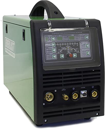 2019 Everlast PowerMTS 251Si Pulse MIG TIG Stick 250amp 110v 220v Multi Process Welder