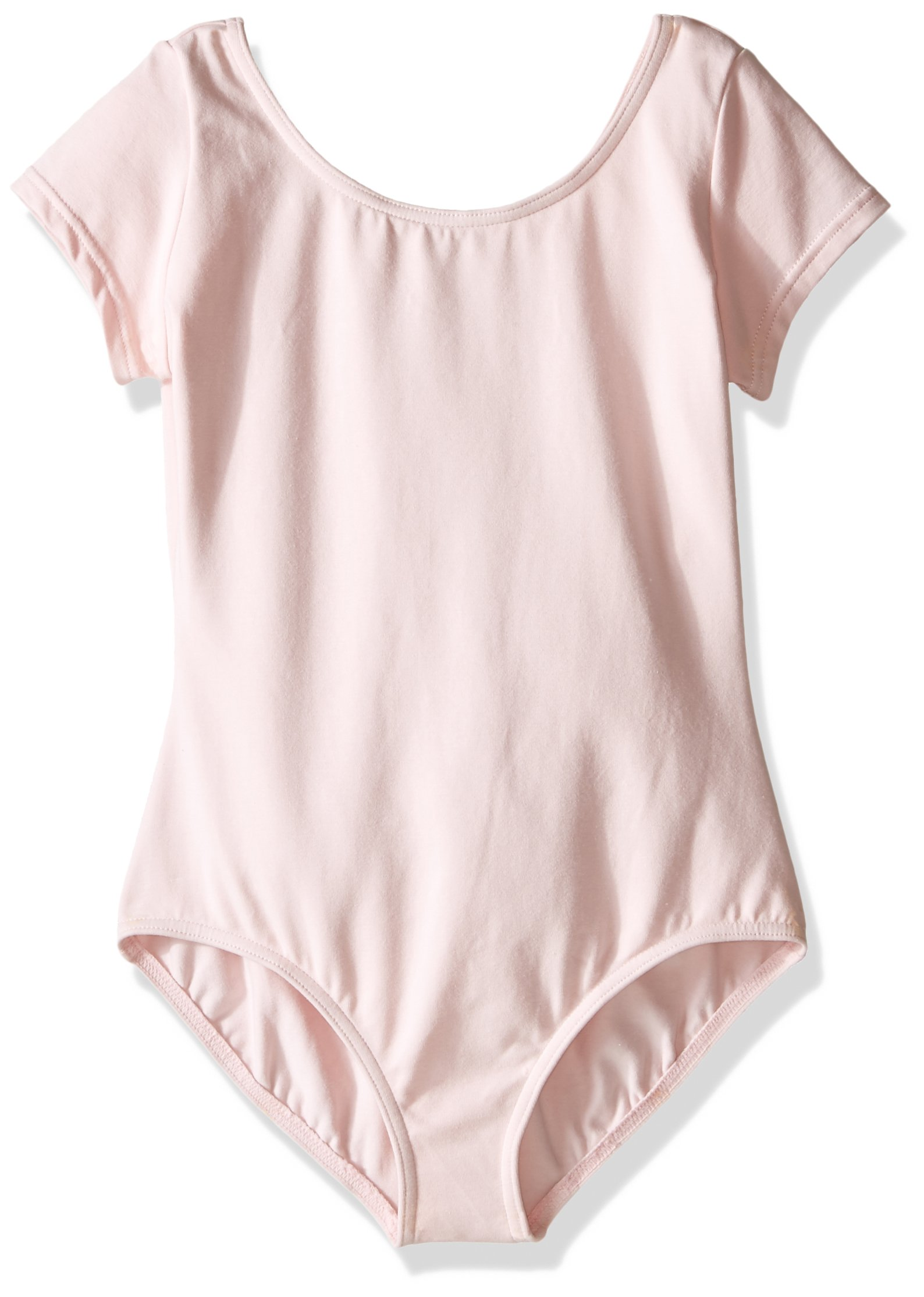 Capezio Little Girls' Classic Short Sleeve Leotard,Pink,T (2-4)