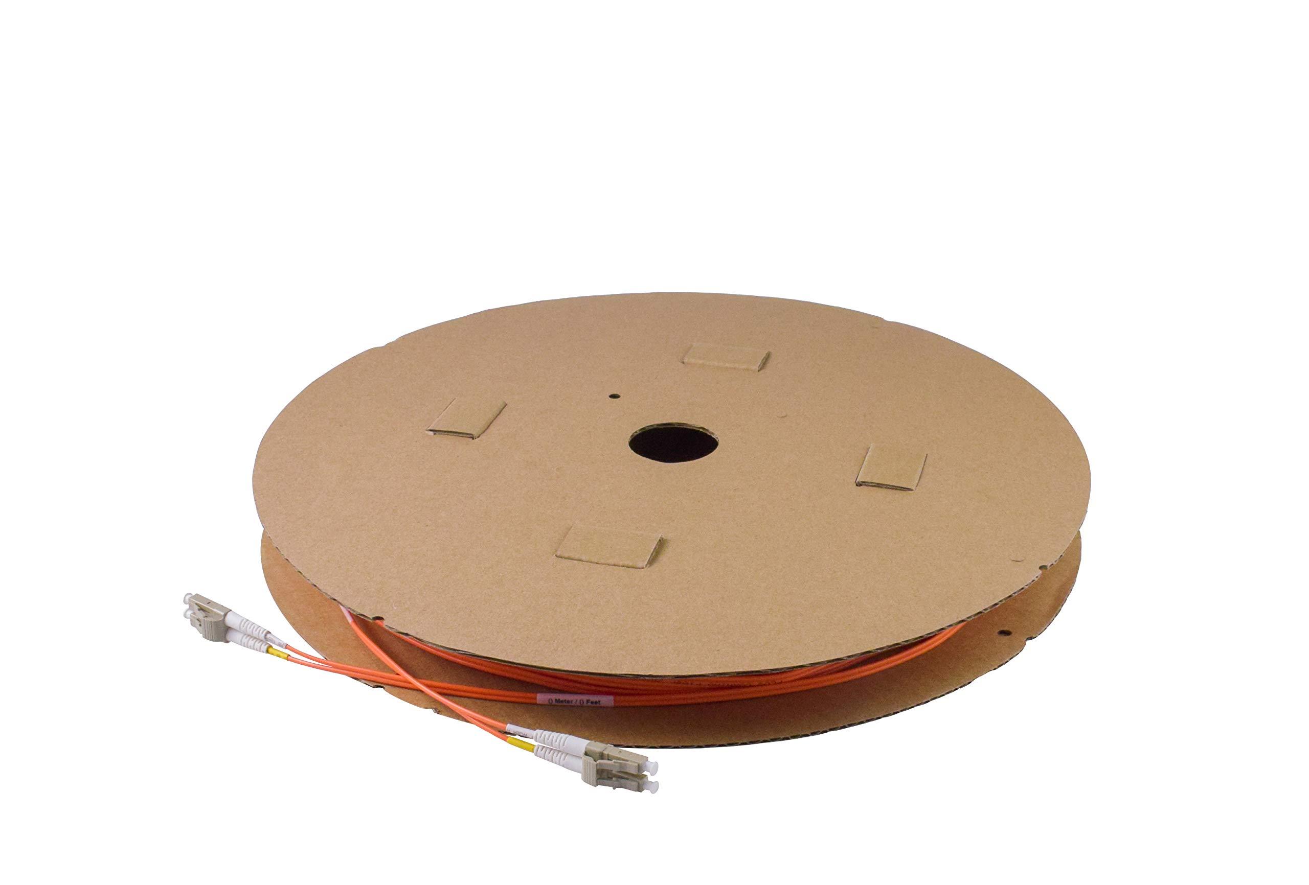 Cable Fibra Optica OM1 150mt LC a LC DUPLEX 62.5/125 FiberTX
