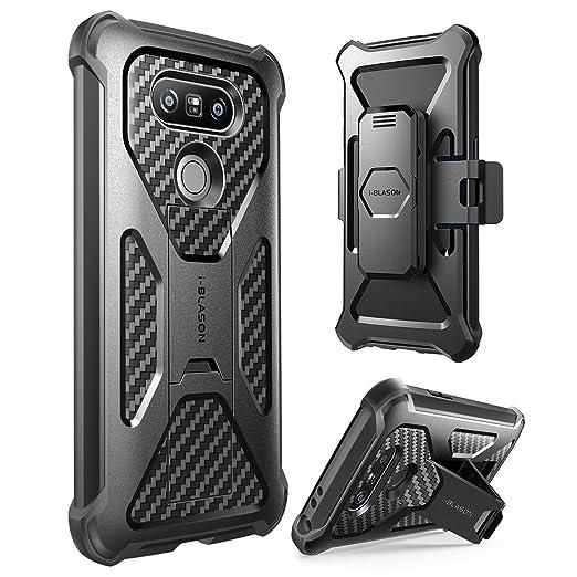 1 opinioni per Custodia LG G5 (2016 Reease), i-Blason Prime Heavy Duty Cover Combo Holster con