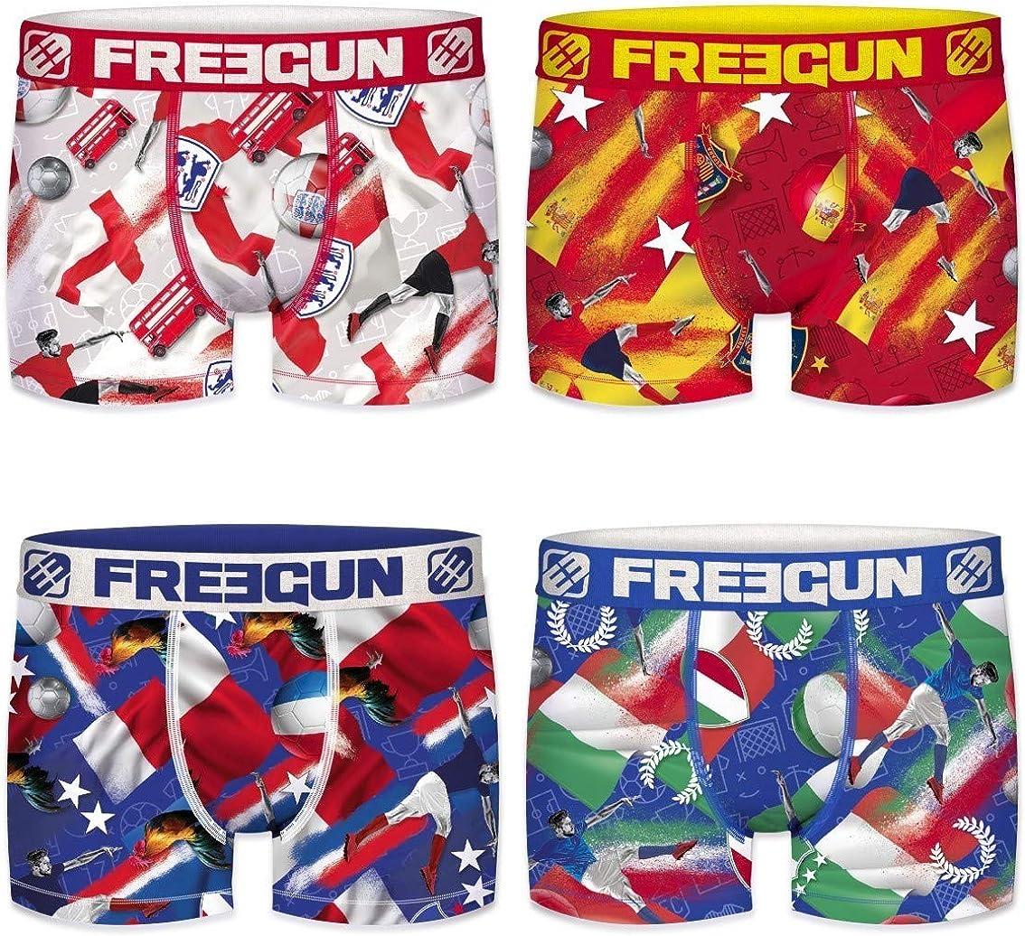 FREEGUN Boys Pants Pack of 9