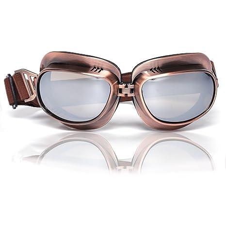 Amazon.com: Eteanor - Gafas de aviador vintage WWII RAF ...