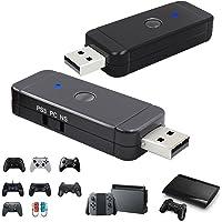 QUMOX Adaptateur de contrôleur de Jeu pour Nintendo Switch Pro PS3 PS4 ou PC Xbox One S Wii U