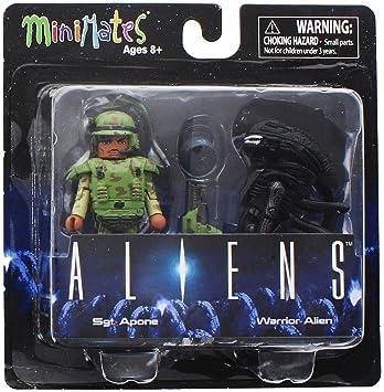 Alien Aliens Minimates Series 1 2-Pack: SGT. Apone & Warrior ...