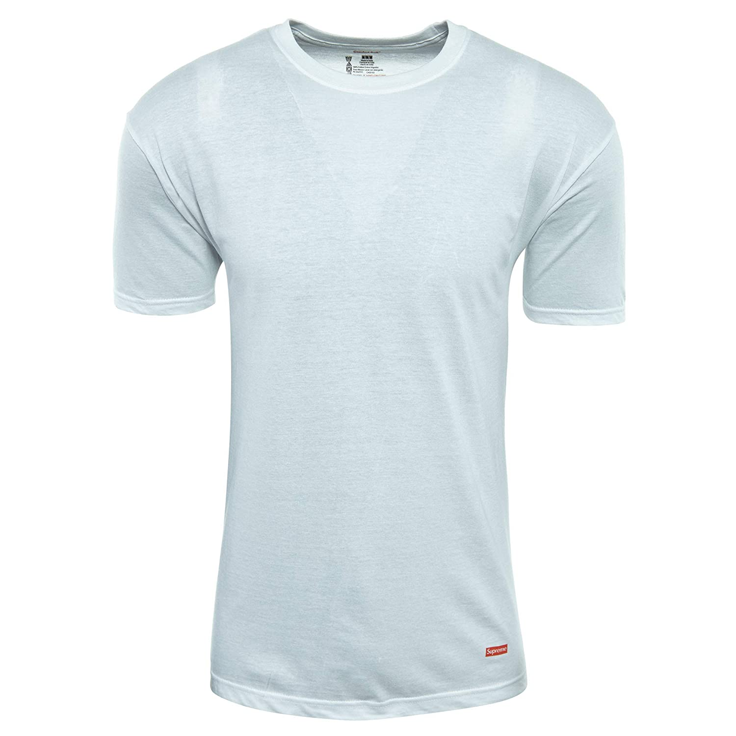 c197c7a5 Amazon.com | Supreme Hanes Tagless Tee (3 Pack) Mens | Shoes