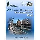 VA HausDesigner Professional 2.0 3D CAD Hausplaner & Zeichenprogramm - auch nutzbar als Einrichtungsplaner, Raumplaner, Badplaner, Gartenplaner & Küchenplaner