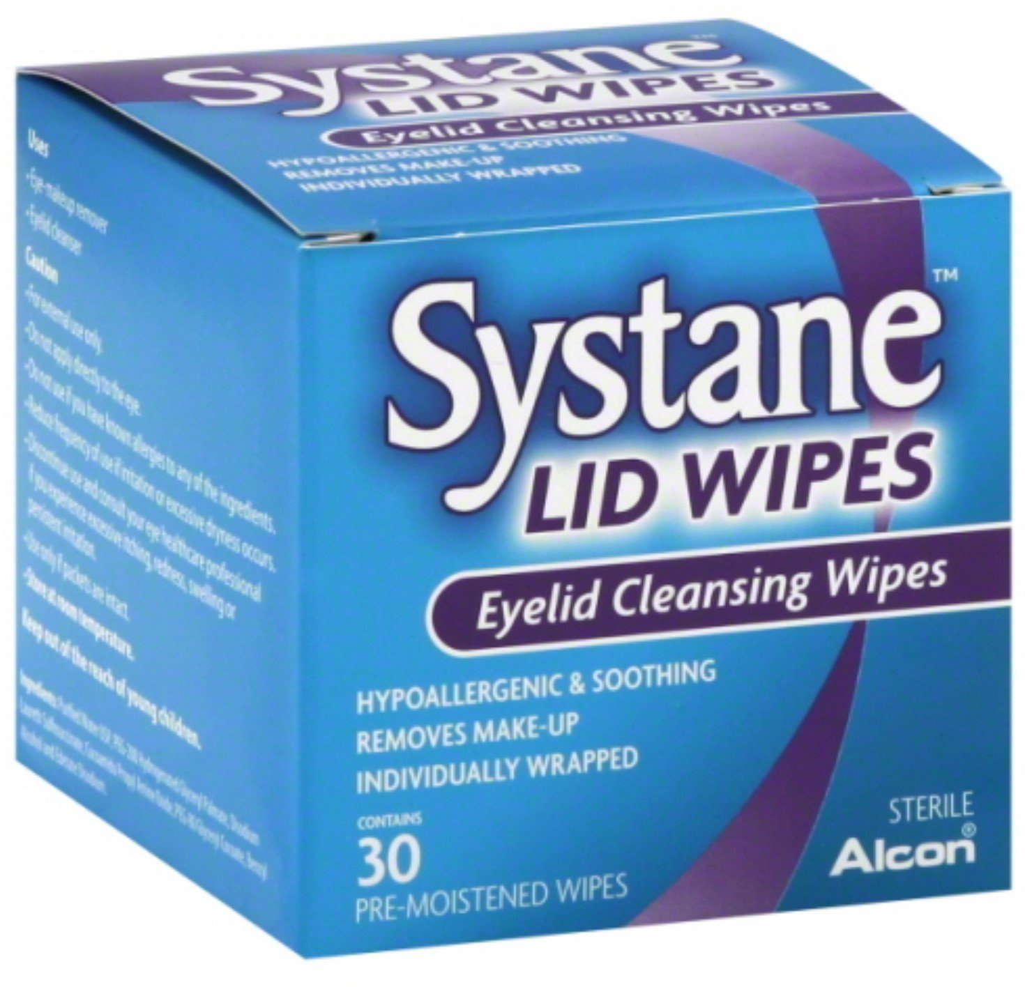 Systane Eyelid Cleansing Wipes, 30 Count (6 Pack)