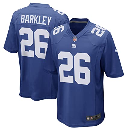 e5c044350f4 Nike Saquon Barkley New York Giants Team Color Youth Game Jersey (Youth  Small 8)