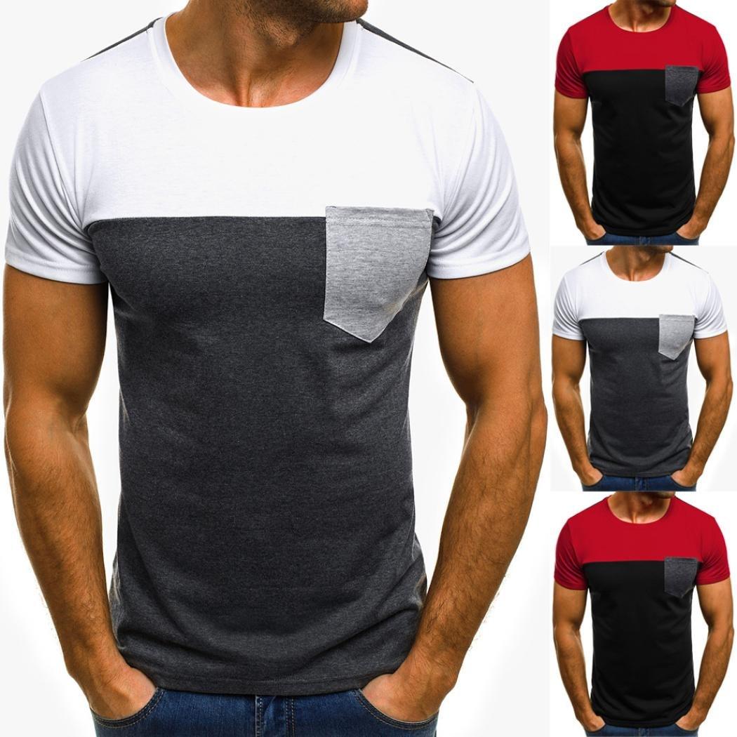 Camiseta para Hombre, ❤️Xinan T-Shirt Camiseta para Hombre ...