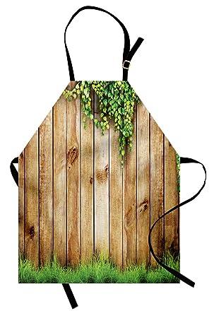 ABAKUHAUS Rustique Tablier de Cuisine, Clôture De Jardin en ...