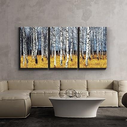 Amazon.com: 3 Piece Canvas Print - Contemporary Art, Modern Wall ...
