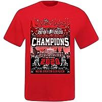 Unisex Liverpool 2020 Premier League Winnaars T-Shirt (100% katoen & maten S tot 4XL)