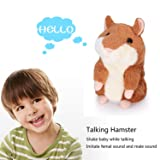 Mimicry Pet Talking Hamster Toy Repeats What You