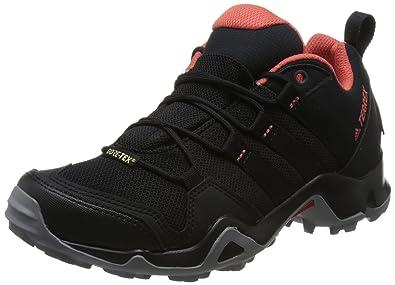 adidas Damen Terrex AX2R GTX Trekking-& Wanderhalbschuhe, Schwarz (Negbas/Negbas/Esctra 000), 36 EU