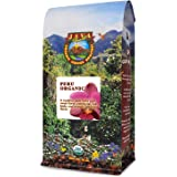 Java Planet, Organic Coffee Beans, Peru Single Origin, Gourmet Medium Dark Roast of Arabica Whole Bean Coffee, Certified…