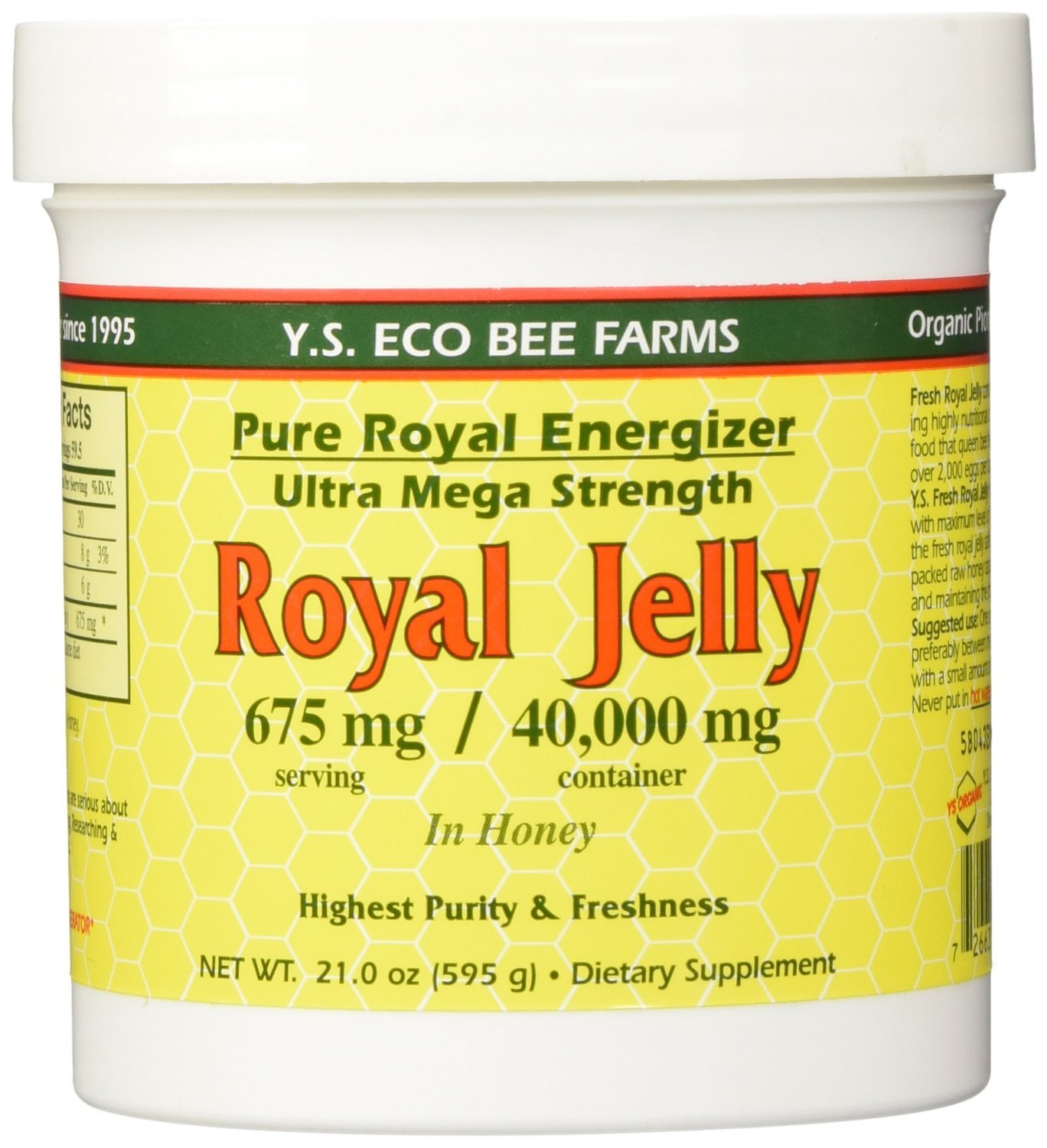 Ys Royal Jelly Honey Bee Pure Energizer Speaker Music Desktop 21 Mega Boom Series If 2103 Blue In Ultra Strength Oz Pack Of 3 Health Personal Care