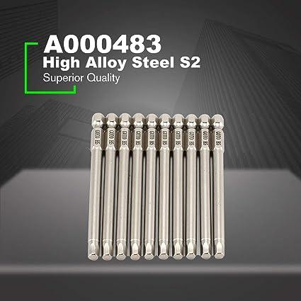 GOTO H5 10 piezas SH1 / 4 100 mm de largo S2 Destornillador de ...