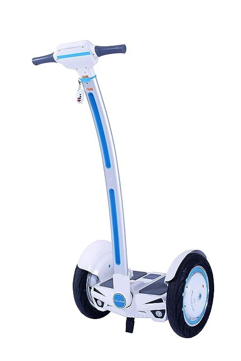 Run & Roll Easy GO - Monociclo Segway, Color Blanco: Amazon ...