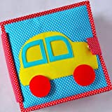 cubs and calves Fast Car Vehicle Themed Quiet Book (Multicolour)