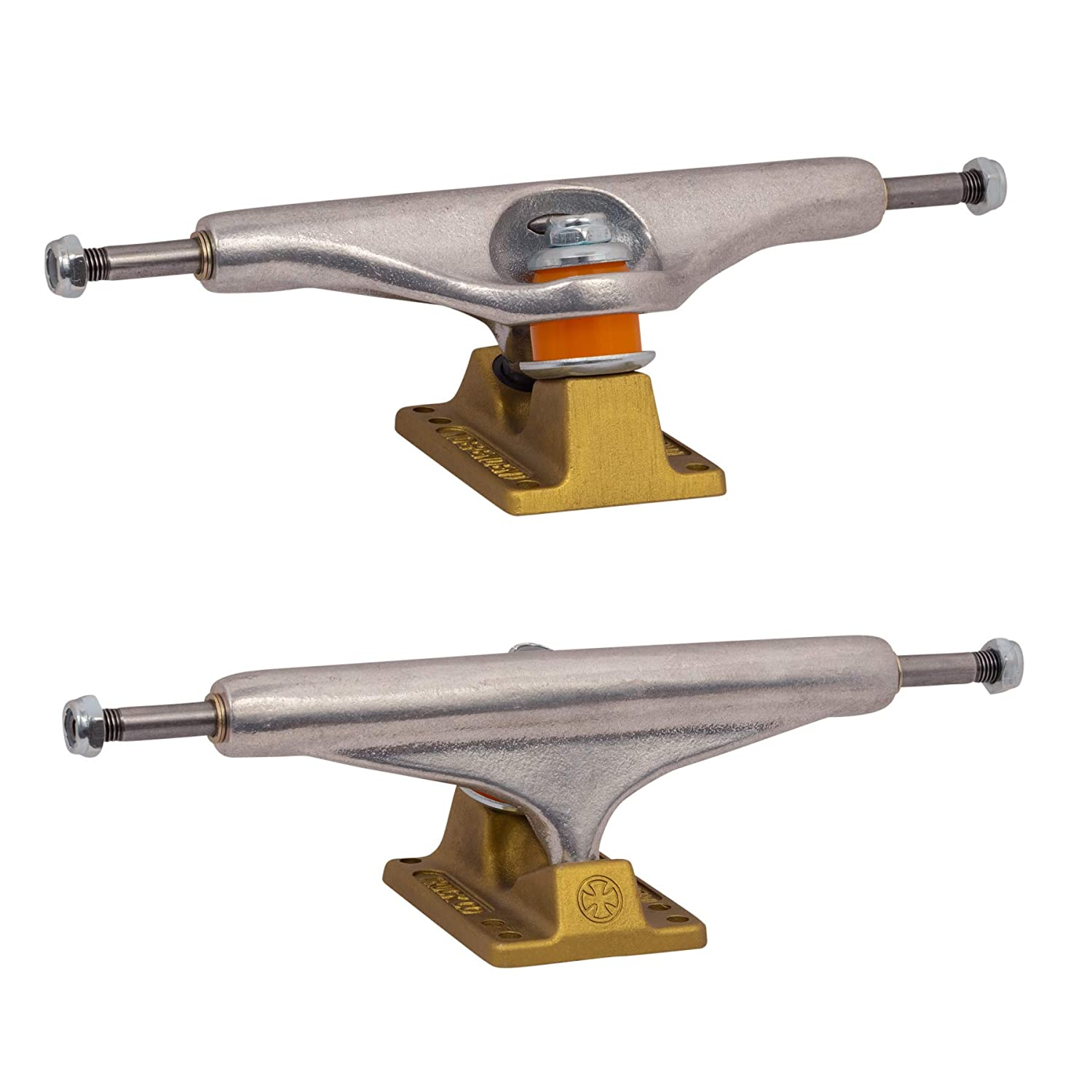 Independent Skateboard Trucks Stage 11 Hollow Silver//Gold 144 Indy 1 Hardware