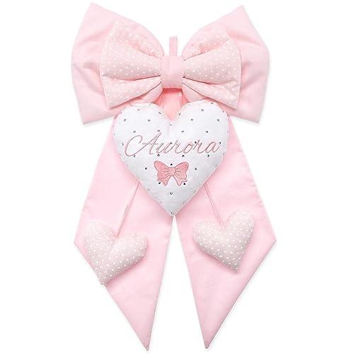Fiocco Nascita Bambina rosa bimba neonata
