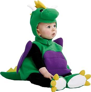 My Other Me Me-203297 Disfraz de bebé dinosaurio, 0-6 meses ...