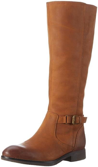 Sebago SARANAC BUCKLE HIGH - Botas De Vaquero de cuero mujer, color marrón, talla 36