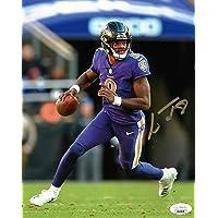 $125 » Lamar Jackson Signed Baltimore Autographed 8x10 Photograph JSA Action Jackson