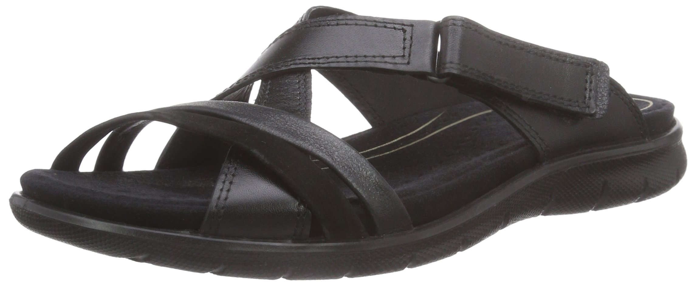 Ecco Footwear Womens Babett Slide Slip-On Loafer, Black, 41 EU/10-10.5 M US