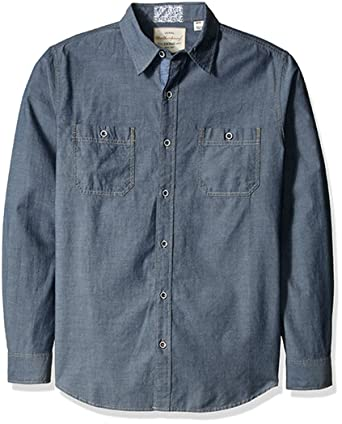 Opinion Vintage mens two pocket denim shirt