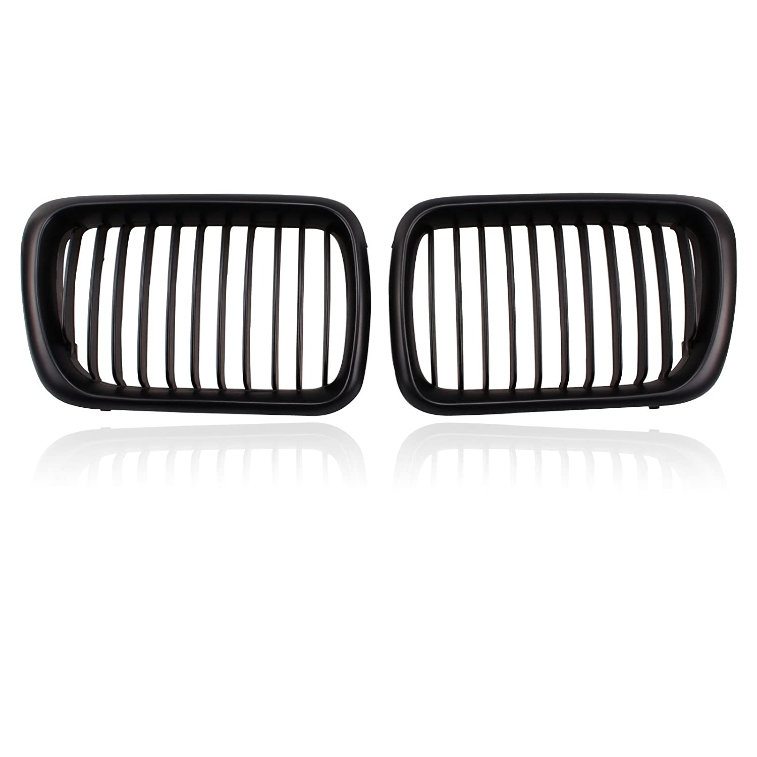 Heart Horse Kidney Front Grilles Grill For BMW E36 3 Series 318 320 323 328 M3 1997-1999 HuihuangAMZus sku486