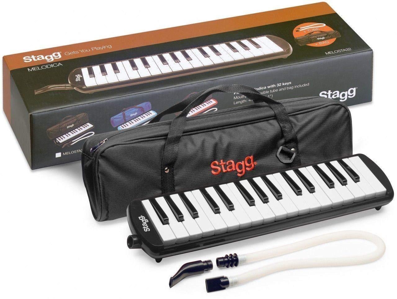 Stag Reed Keyb.32Kys.Mthp.Tb+Bag Bk by Stag
