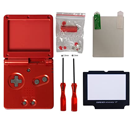 gba sp shell,eJiasu Carcasa Completa Case Cover Pack ...