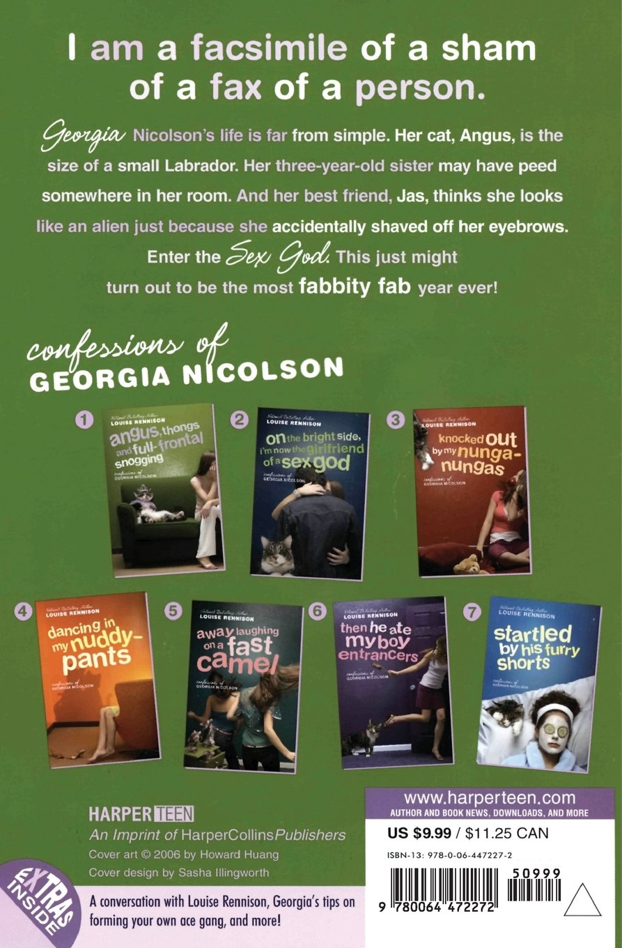 Amazon: Angus, Thongs And Fullfrontal Snogging: Confessions Of Georgia  Nicolson (confessions Of Georgia Nicolson, Book 1) (9780064472272): Louise