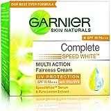 Garnier Skin Naturals White Complete SPF 19 Day Cream, 18g